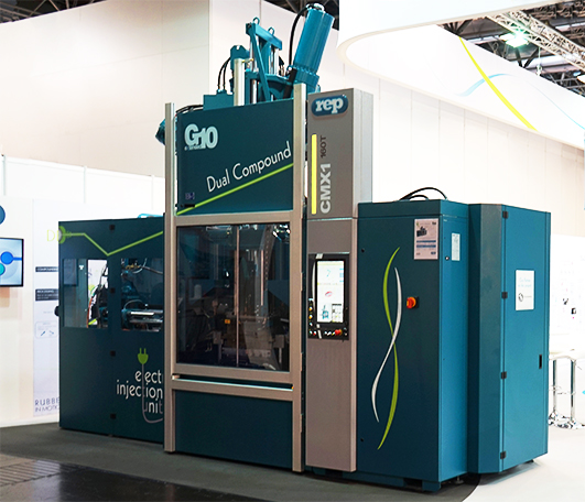 Multistation four-station Injection Moulding Machines for large productions - productivity increase