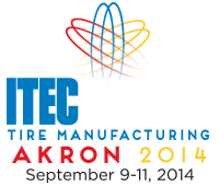International Tire exhibition and Conference Akron , USA  2014