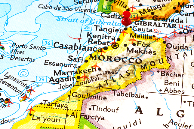 Rubber injection machines REP in Morocco