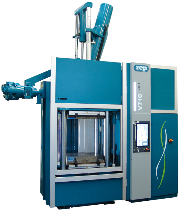 REP G10 rubber injection molding machine