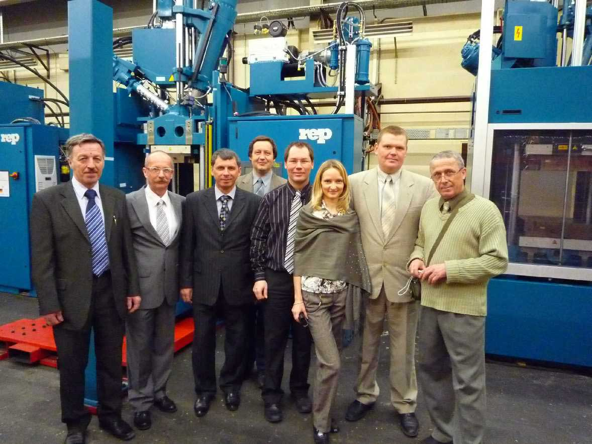 rubber injection molding machine supplier Russia