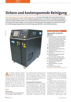 press article about rubber injection molding in german | REP Deutschland, Wald-Michelbach, Germany