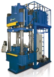 hydraulic forming press for composites |powder metal parts|abrasive materials|brake pads|clutch disks
